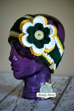 READY 2 SHIP  Teen/Adult Green Bay Packers Inspired by SimplySquid, $25.00