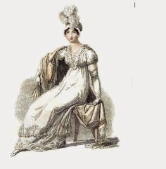 Regency Ramble: Regency Fashion April 1815