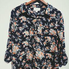 Floral Button-Up – NAVA