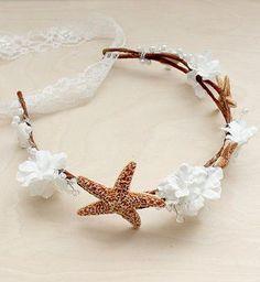 Beach Wedding Hair Accessory headpiece. I so want this!!!