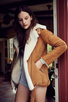 Just Female Chin Shearling Jacket ... if you've got $1000 lying around