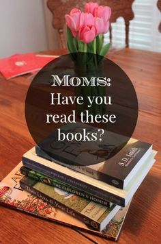 Want to encourage a weary mom? Or just need some inspiration and motivation for your own mothering? Check out this list of books!