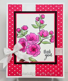 Heart's Delight Cards: Thinking Spring