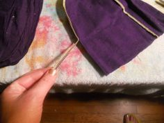 Crown Royal Quilt Pattern | Of course this is AFTER you cut off the drawstring area.