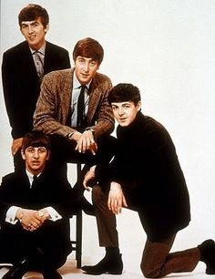 George, Ringo, John & Paul - The Beatles