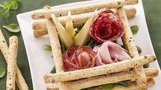 Scatola di sfilati alle olive con salumi e formaggi