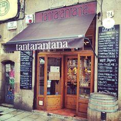Tantarantana in Barcelona, Cataluña http://www.gruposantelmo.com/restaurantes/tantarantana/
