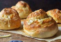 Gruyere-Stuffed Crusty Loaves