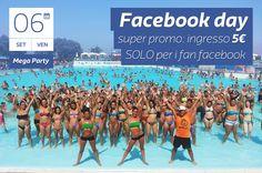 Facebook Day! Super Promo: ingresso 5€ SOLO per i fan facebook di Magic World