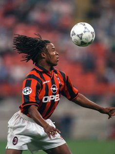 Greats Of The Game - Edgar Davids, MidfielderOne of the greatest and most recognisable players of his generation, Davids often stood out on the football field due to his dreadlocked hair and the. God Of Football, Legends Football, Retro Football, Football Soccer, Football Awards, Football Stadiums, Football Kits, Edgar Davids, Association Football