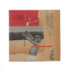 011801LJ13, Limited Edition, Collage Print, Handmade from  Ephemera, Mixed Media, Vintage Papers, Signed by Artist on Etsy, $30.00