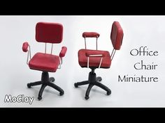 Miniature Office Chair Tutorial                                                                                                                                                      More