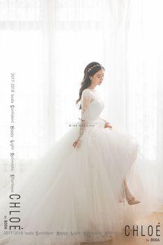 korea prewedding boda studio 2017 new sample Fluffy Wedding Dress, Asian Wedding Dress, Korean Wedding, Civil Wedding Dresses, Wedding Gowns, Wedding Girl, Wedding Bride, Weeding Dress, Sophisticated Bride