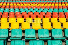 colored seats