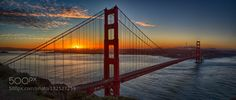 Sunrise over the City - Pinned by Mak Khalaf Winter sunrise over San Francisco! This was a 6 shot panorama shot and each shot was bracketed 5 times. City and Architecture Golden gate bridgeSan franciscoSunrisearchitecturecityscapeiconlandmarklandscapeskyskylineurban by tomgomes