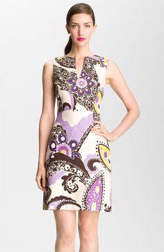 kate spade new york 'kerian' print sheath dress | Nordstrom