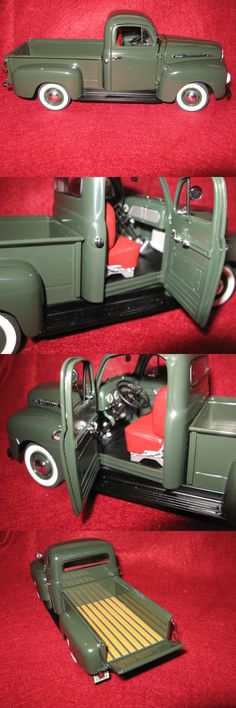 Contemporary Manufacture 180506: Model Car 1951 Ford F-1 Pick Up Truck Green Danbury Mint -> BUY IT NOW ONLY: $45 on eBay!