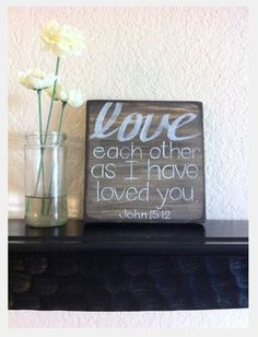 Love each other as I have loved you.  #BibleINspiration