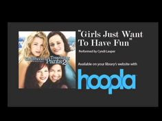 """Hoopla is a great resource for patrons who love to stream or download songs/movies/audiobooks and more! But many people ask, what do library staff listen to? Check out this great lip sync of the song """"Girls Just Want to Have Fun"""" by Cyndi Lauper from the """"The Sisterhood of the Traveling Pants 2"""" soundtrack from staff at the Moss Bluff Library!"""