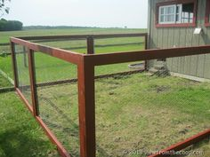 This is the kind of fencing Im thinking of... It's Chicken Wire Fencing I think. Super thin almost translucent :)