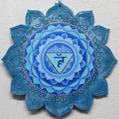 Throat Chakra Healing Chakra Wall Hanging 5th Chakra