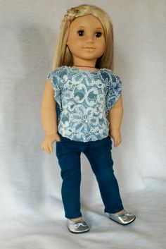 Putting on the Glitz for 18 American Girl Dolls by MIGURLZCLOTHING, $15.00