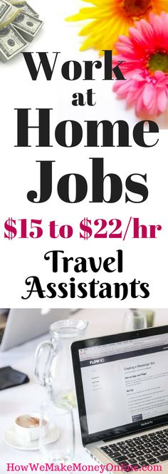 Work at Home Jobs that Pay up to $22 an Hour