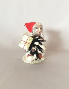 Christmas Angel Doll Toy Decoration Xmas New Year Table Shine LOVE SHAPE