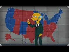 Mr. Burns, Heartless capitalist and nuclear energy magnate endorses Mitt Romney. Oh, but the Springfield power plant, he didn't build that.