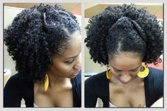 A new twist on the puff #naturalhair