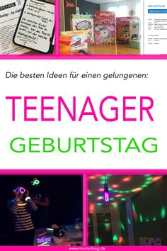 The best ideas for a successful teenage birthday party - Geburtstagsidee - BakedChicken Birthday Party For Teens, Pig Birthday, Teen Birthday, Birthday Party Themes, Birthday Ideas, Birthday Gifts, Diy Gifts For Friends, Gifts For Kids, Fairy Mermaid