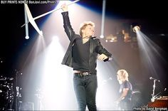 Photo © 2013 David Bergman / www.BonJovi.com/prints -- Bon Jovi performs at the American Airlines Center in Dallas, TX on October 16, 2013.
