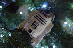 Star wars Christmas tree ornament / R2D2 diy / adorno de árbol de Navidad /