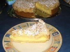 Das perfekte Gefüllter Streuselkuchen-Rezept mit Bild und einfacher Schritt-für-Schritt-Anleitung: Das Puddingpulver mit 4 Esslöffeln Zucker und 12…