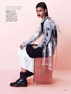 Your New Season Edit | Glamour UK August 2014 | Karol Santos by Justin Borbely [Editorial]