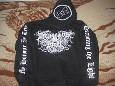 Drowning the Light Satanic Warmaster Vlad Tepes Vampyric Blood Xasthur Striborg Band Merch, Satan, Blood, Hoodies, Lighting, Sweaters, Clothes, Fashion, Outfits