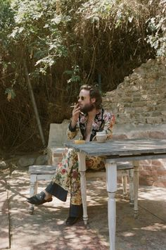 """lovetheghost: """" Father John Misty for Violet Magazine Los Angeles, CA Photo by Emma Elizabeth Tillman """" Music Aesthetic, Aesthetic Boy, A Well Traveled Woman, Father John, Photo Wall Collage, Music Is Life, Cool Cats, Life Is Beautiful, Instagram"""