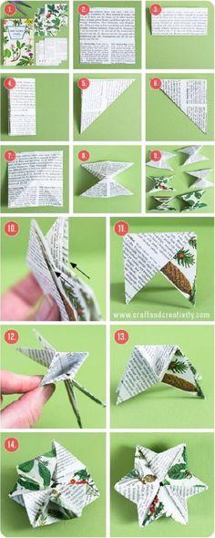 ideas para reciclar papel 4