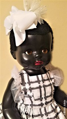 Pedigree Head-Turning Walker – DeeBeeGee's Virtual Black Doll Museum™ Black Tights, Black Shorts, Doll Museum, Cellulose Acetate, White Slip, Mary Jane Shoes, Black People, Caricature, Turning