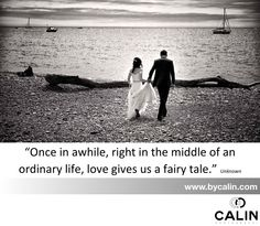 """Photography by Calin - Wedding Inspiration: Location: I love this quote: """"once in a while, right in the middle of an ordinary life, Love gives us a fairy tale"""". Ordinary Lives, Fairy Tales, Middle, Wedding Inspiration, Author, Quote, Beach, Water, Photography"""