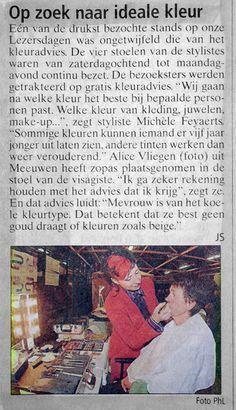Kleuradvies voor Het Belang van Limburg
