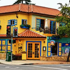 From San Luis Obispo to Cambria, take a drive through California's Central Coast with tips on where to stay, eat and play. Places To Travel, Places To Go, Storefront Signs, Avila Beach, San Luis Obispo County, Pismo Beach, California Dreamin', Central Coast, Beautiful Places To Visit