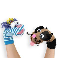 Marionnettes rigolotes avec des chaussettes                                                                                                                                                      Plus