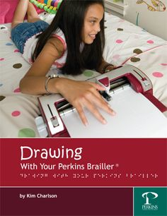 Practice #brailling through drawing! Click here for art projects that use brailling tools and narrative technique to practice story writing.