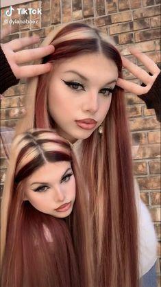 Cute Hair Colors, Hair Dye Colors, Best Hair Color, Hair Color Streaks, Hair Highlights, Red Hair Inspo, Dye My Hair, Aesthetic Hair, Pretty Hairstyles
