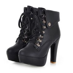 High Quality Street Rivet Ankle-boot Ankle Boots from stylishplus.com