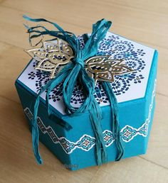 Hexagon Box, Moroccan Nights und Paisleys