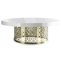 Mid Century Modern Luxury Furniture | Nixon Cocktail Table | Jonathan Adler