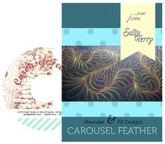 Machine Quilting Patterns, Longarm Quilting, Free Motion Quilting, Quilt Patterns, Feather Pattern, Feather Design, Arm Machine, Teaching Style, Quilting For Beginners