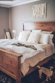 Beauty while you ZZZ - Υπνοδωμάτια - Bedding Master Bedroom Furniture, Cozy Bedroom Warm, Home, Bedroom Makeover, Home Bedroom, Bedroom Furniture, Cheap Bedroom Makeover, Rustic Master Bedroom, Master Bedrooms Decor